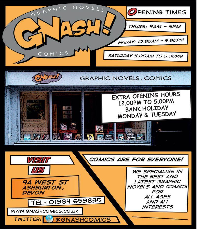 Gnash Comics 15x4 proof